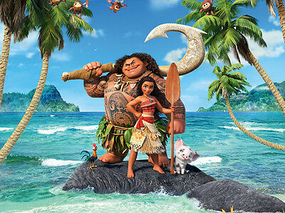 Disney Moana HD Canvas print Oil painting Home decor No Frame 24 H173