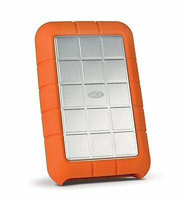 LaCie 1TB Rugged Triple Hard Drive, USB 3.0 & Firewire 800 (STEU1000400)
