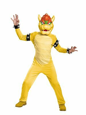 Super Mario Brothers Bowser Deluxe Costume for Kids