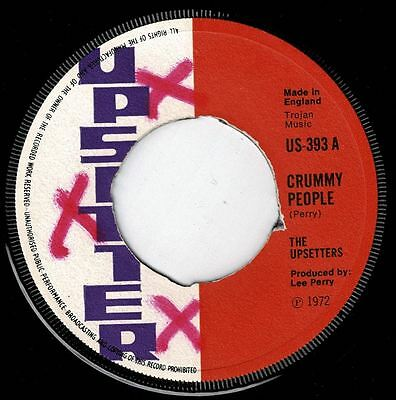 "RIGHTEOUS FLAMES-crummy people  7""   upsetter  (hear)   boss reggae"
