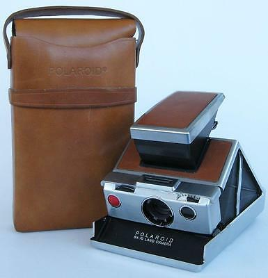 Vintage Polaroid SX-70 Land Instant Film Camera with Case Untested