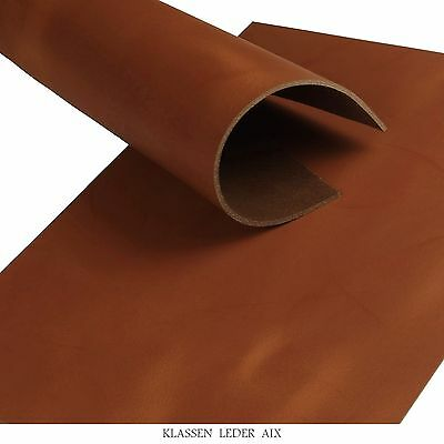 Buffalo Leather Cognac Pull-Up 3,4 mm Vegetable Tanned Cowhide Croupon 230