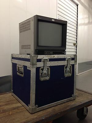 "Sony Pvm-14M4U 14"" Color Video Monitor"