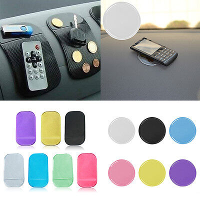 Universal Sticky Pad Anti-Slip Mat Gel Dash Car Mount Holder for Cell Phone