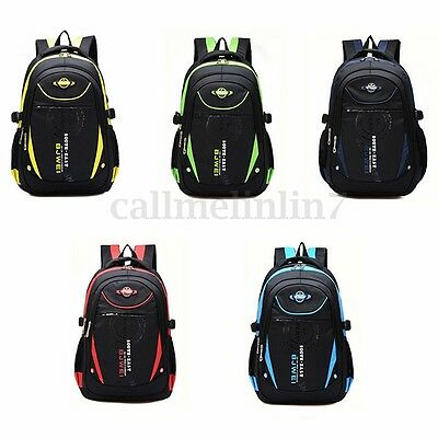 UK Children Backpack Hiking Camping Outdoor Kids School Waterproof Rucksack Bag