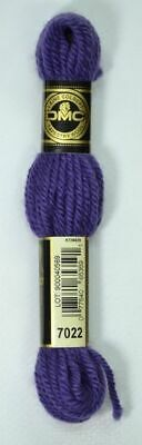 DMC TAPESTRY WOOL, 8m SKEIN, Colour 7022 VERY DARK BLUE VIOLET