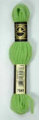 DMC Tapestry Wool, 8m SKEIN, Colour 7041 LIGHT FOREST GREEN