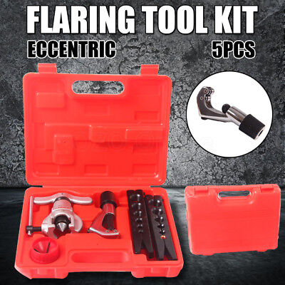 Eccentric Flare Tool Kit Flaring Copper Tube Pipe Cutter Air Conditioning AU