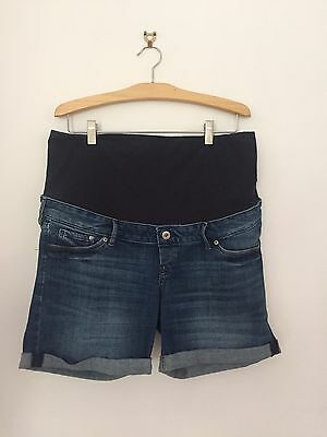 H&M MAMA Maternity Shorts Denim Style Size EUR44 (approx Size 16)