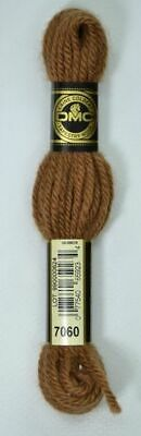DMC TAPESTRY WOOL, 8m SKEIN, Colour 7060 LIGHT BROWN