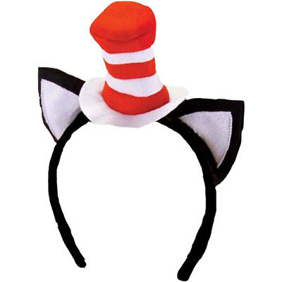 Dr Seuss - Cat in the Hat Economy Headband NEW Elope