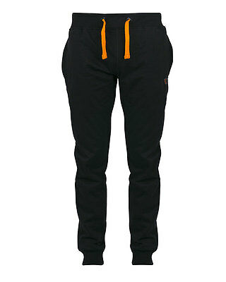 Fox NEW Black & Orange Lightweight Joggers Jogging Bottoms Trousers *All Sizes*
