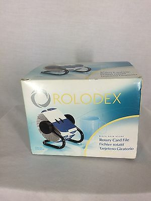 Rolodex 6674 Rotary Card File with A-Z Indexed Tabs and 500 Cards New in Box
