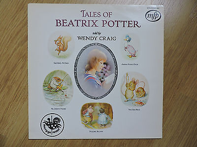 Tales of Beatrix Potter told by Wendy Craig LP - 1971 - MFP5241