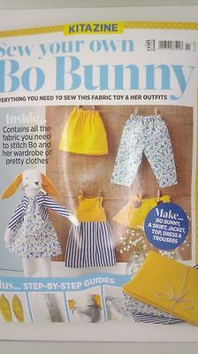 Sew Your Own Bo Bunny Kitazine - contains everything for bo & outfits