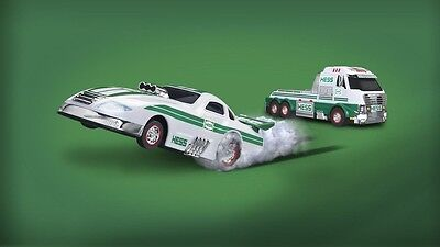 2016 Hess Toy Truck and Dragster - NEW- Free Priority Shipping