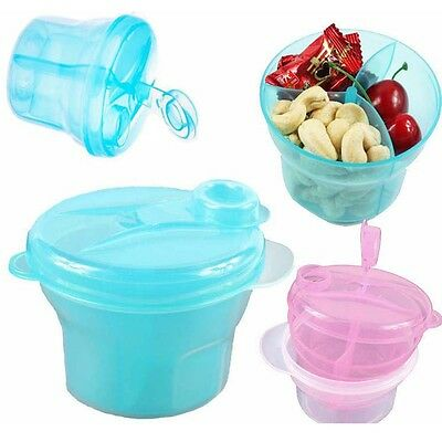 Supplement Milk Powder Container Feeding Box Food Storage Formula Dispenser