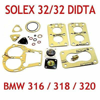 Solex 32/32 DIDTA service gasket kit repair set for BMW 316/318/320