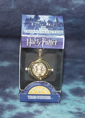 HARRY POTTER Charm 4 by LUMOS - Time Turner Charm - NEW in Box - Fixed Axis