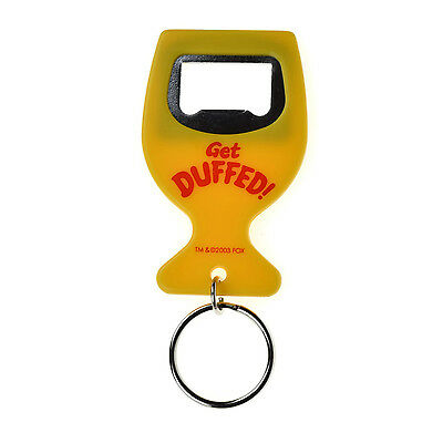 The Simpson 'Get Duffed' Bottle Opener Key Ring Bottle Opener Bottle Top Opener