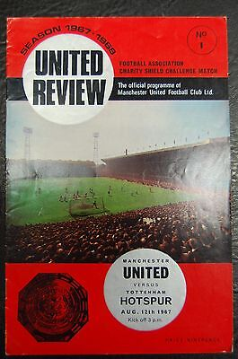 Manchester United V  Tottenham Hotspur Charity Shield  1967/68   George Best