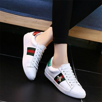Women Ladies Casual Sneakers Sports Athletic Leisure Running Flat Trainers Shoes