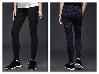 New GapFit Maternity gFast Legging MEDIUM Black reg. $49.95