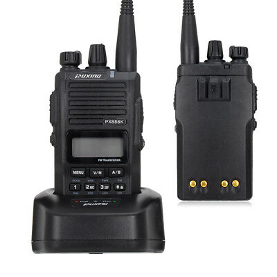 Puxing PX-888K Dual BAND Walkie Talkie Professional Two Way Radio With CTCSS/DCS