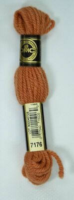 DMC TAPESTRY WOOL, 8m SKEIN, Colour 7176 COPPER