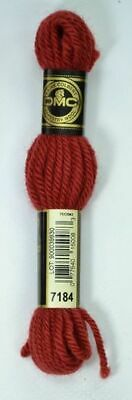 DMC Tapestry Wool, 8m SKEIN, Colour 7184 RED COPPER