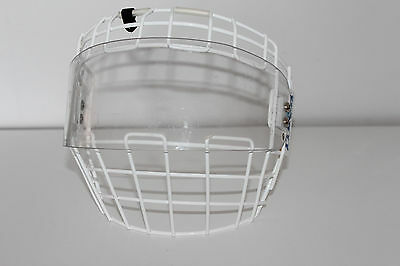 ITECH M90 TYPE 1 Ice Hockey FACE SHIELD CAGE & VISOR Combo *** LARGE Canada L@@K
