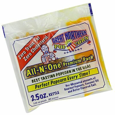 Great Northern Popcorn 2.5-Ounce Portion Packs (Pack of 24)