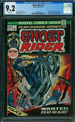 Ghost Rider #1 CGC 9.2-1st Issue-1st Appearance of Son of Satan-Bronze Age title