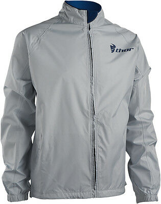 THOR MX Motocross/Offroad/Dual Sport Mens PACK Jacket (Cement/Navy) 3XL/3X-Large
