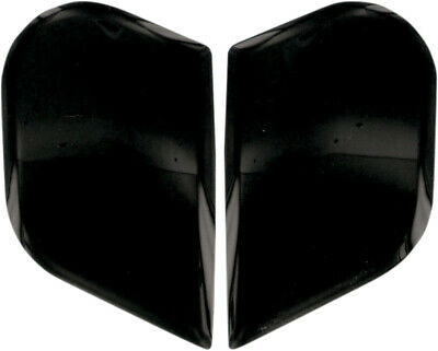 ICON Genuine Replacement Sideplates for Airframe & Alliance Helmet (Black)