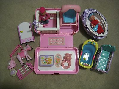 Baby Born Mini Doll Set with Horse & Furniture (Simba Doll extra). Pick up OK.