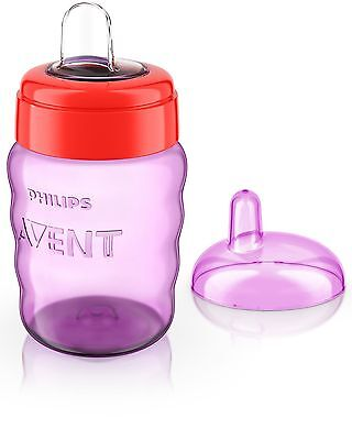 Philips Avent Easy Sip Spout Cup 260 ml Pink Fast And Free Delivery Brand New