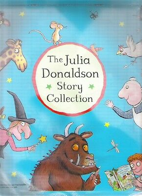 JULIA DONALDSON STORY Canvas Book Bag + label Childs Storage Collectable Clean
