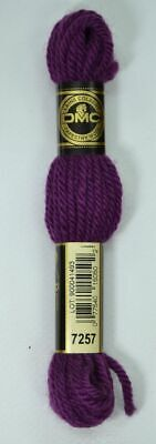 DMC TAPESTRY WOOL, 8m SKEIN, Colour 7257 DARK GRAPE