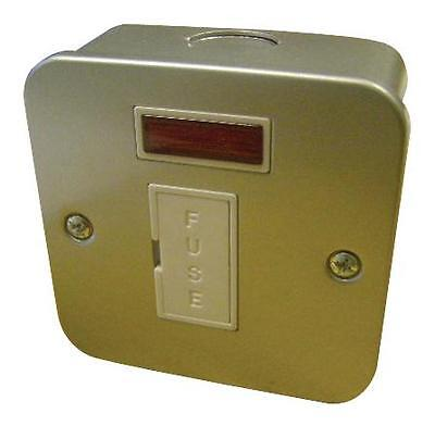 METALCLAD 13A FUSED SPUR Electrical Switches & Socket Outlets