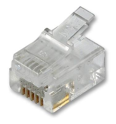 RJ12 MODULAR PLUG UNSHIELDED Connectors Modular