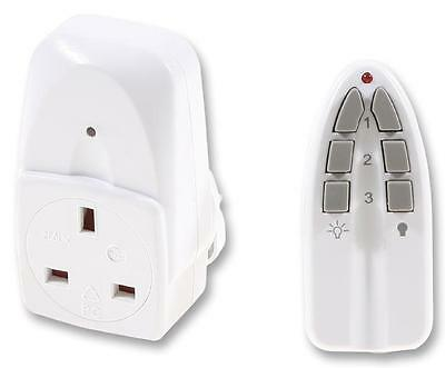 SOCKET 13A REMOTE CONTROLLED W/TX Electrical Switches & Socket Outlets