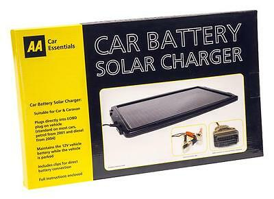 SOLAR PANEL CAR & CARAVAN CHARGER AA Automotive - SOLAR PANEL CAR & CARAVAN