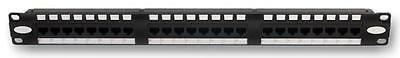 PATCH PANEL 24 PORT CAT 6 Connectors Patch Panels, PATCH PANEL, 24 PORT, CAT