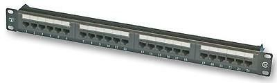 PATCH PANEL CAT5E 24 PORT TUK Connectors Patch Panels, PATCH PANEL, CAT5E,