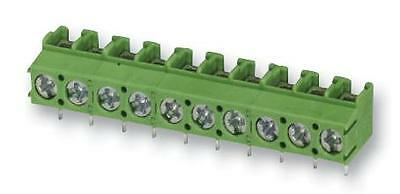 TERM BLOCK PCB SCREW 5.0MM 2WAY Connectors Terminal Blocks
