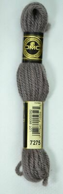 DMC TAPESTRY WOOL, 8m SKEIN, Colour 7275 VERY DARK SHELL GREY