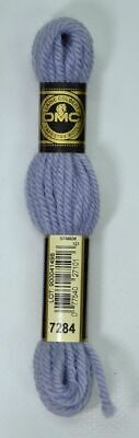 DMC TAPESTRY WOOL, 8m SKEIN, Colour 7284 LIGHT GREY BLUE