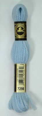 DMC TAPESTRY WOOL, 8m SKEIN, Colour 7298 LIGHT SKY BLUE