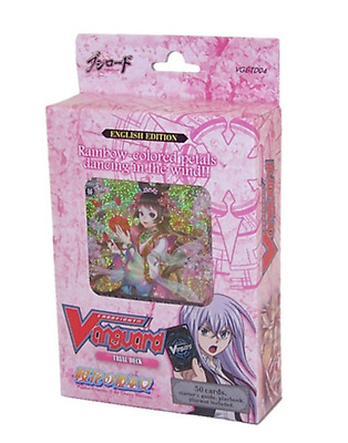 Cardfight Vanguard Trial Deck 04 - Maiden Princess of Cherry Blossoms (ENG VER.)